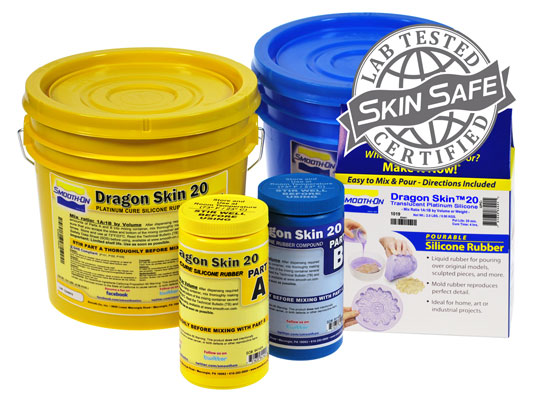 Dragon Skin™ 20 vs. Ecoflex™ 5 vs. Smooth-Cast® 310Ecoflex™ 5 versus Smooth-Cast® 310