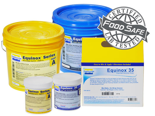 Equinox™ 35 FAST vs. EZ-Spray® Silicone 22 vs. EZ-Spray® FoamEZ-Spray® Silicone 22 versus EZ-Spray® Foam