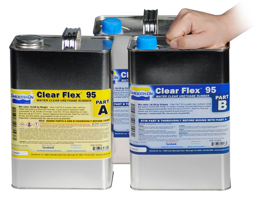 Ecoflex™ 5 vs. Clear Flex™ 95 vs. Smooth-Cast® 310Ecoflex™ 5 versus Smooth-Cast® 310