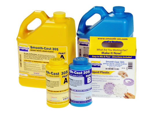 Smooth-Cast® 305 vs. EZ-Spray® Silicone 22EZ-Spray® Silicone 22